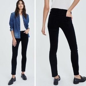 AG THE PRIMA CIGARETTE LEG BLACK JEANS 29~MID RISE